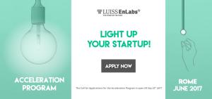 LUISS ENLABS Application Program W2017